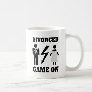 divorced game on icon coffee mug