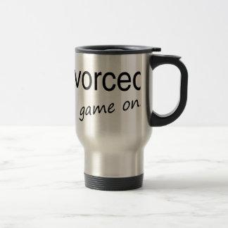 Divorced  game on mug