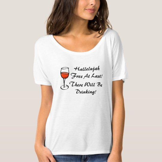 divorced hallelujah im free divorce wine party t shirt - Candy Christmas Divorce