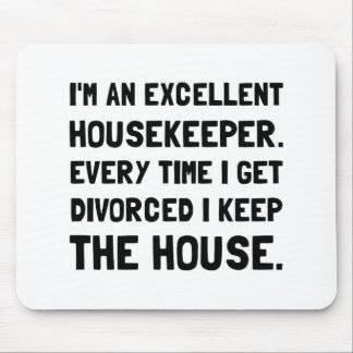 Divorced Housekeeper Mouse Pad