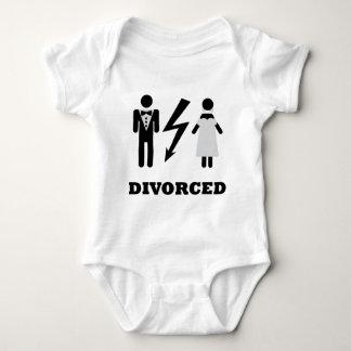 divorced icon baby bodysuit