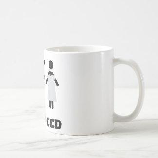 divorced icon coffee mug