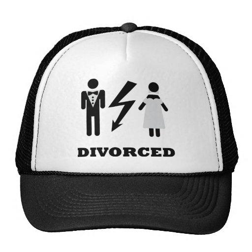 divorced icon trucker hat