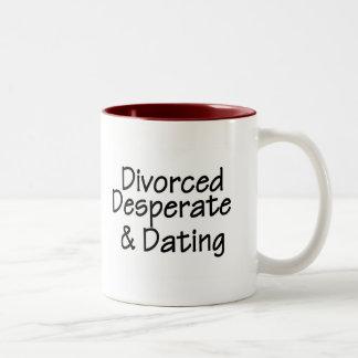 Divorced Two-Tone Coffee Mug