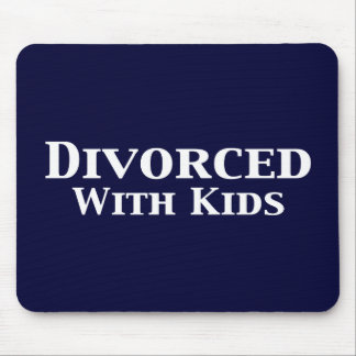 Divorced With Kids Gifts Mouse Pad