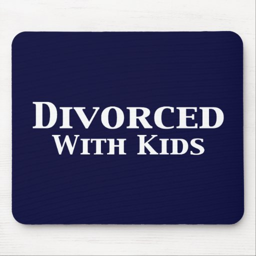 Divorced With Kids Gifts Mouse Mat