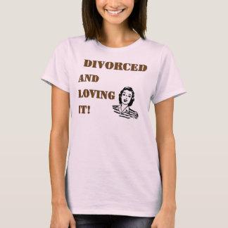 Divorciado amándolo playera