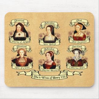Divorciado, decapitado, muerto… Esposas del Enriqu Alfombrilla De Raton