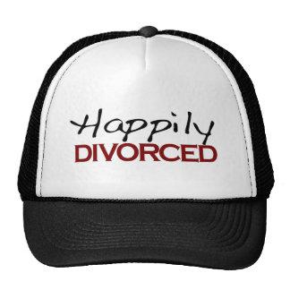 Divorciado feliz gorras