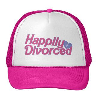 Divorciado feliz gorros
