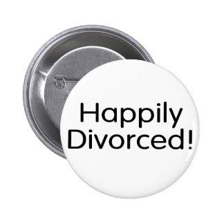 Divorciado feliz pin