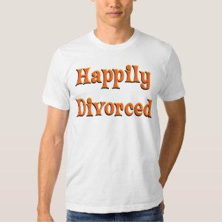 ¡Divorciado feliz! Playera