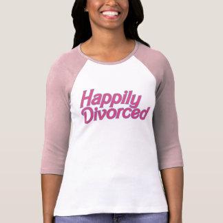 Divorciado feliz camisetas