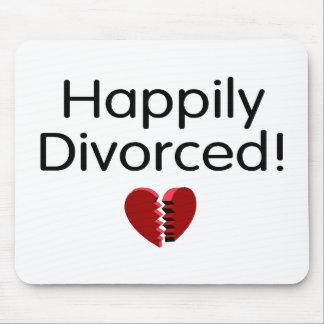 Divorciado feliz tapetes de ratones