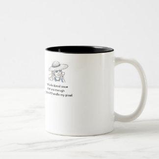 Divorciado feliz taza de café