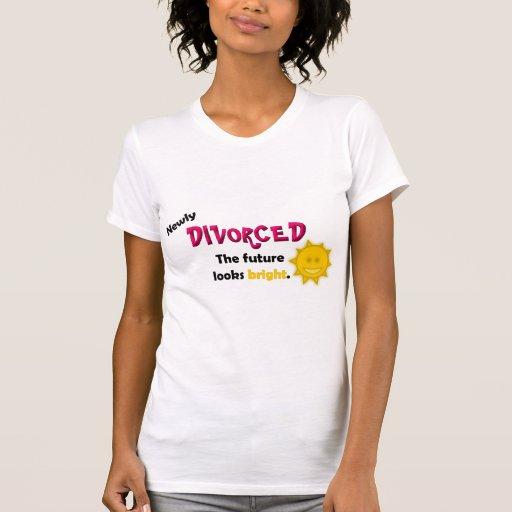 Divorciado nuevamente camisetas