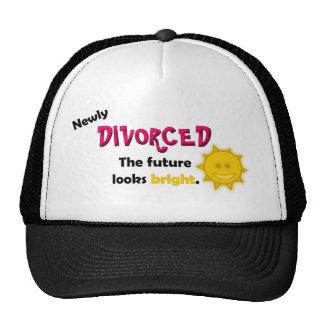 Divorciado nuevamente gorros