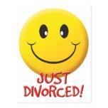 Divorciado Tarjetas Postales