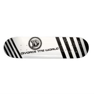 Divorcíese la cubierta 1 del mundo skate boards