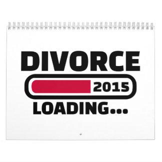 Divorcio 2015 calendarios de pared
