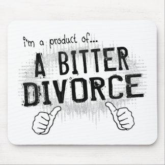 divorcio amargo alfombrilla de ratón
