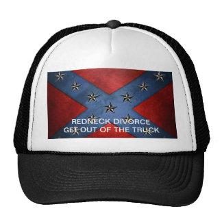 Divorcio del sombrero del camionero gorros