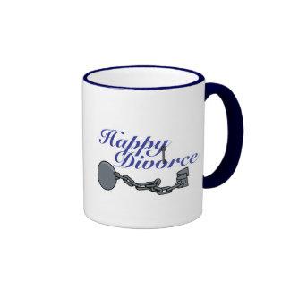 Divorcio feliz, divorcio feliz taza