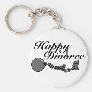¡Divorcio feliz! Llavero