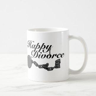¡Divorcio feliz! Taza Clásica