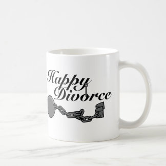 ¡Divorcio feliz! Taza De Café