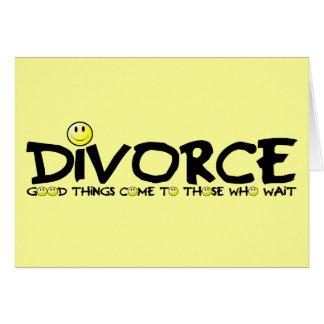 Divorcio ingenioso felicitacion