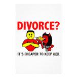 DIVORCIO  PAPELERIA
