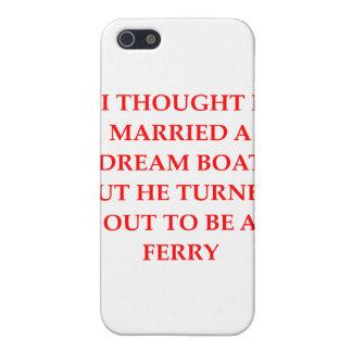 DIVORCIO para las mujeres iPhone 5 Funda