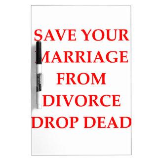 DIVORCIO PIZARRA BLANCA