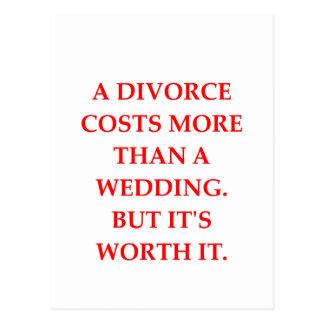 divorcio tarjetas postales