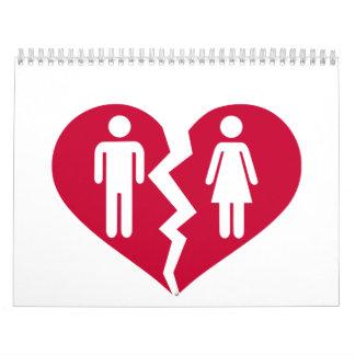 Divorcio Calendario De Pared