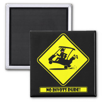 Divots DUDE-1 2 Inch Square Magnet