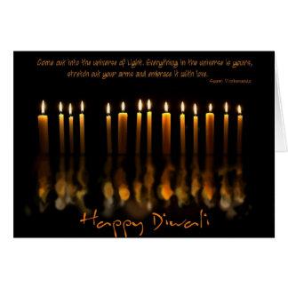 Diwali 4 tarjeta de felicitación