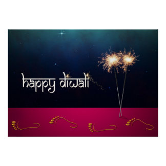 Diwali chispeante - poster