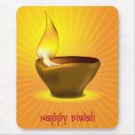 Diwali Diya - Oil lamp for dipawali celebration Mouse Pad