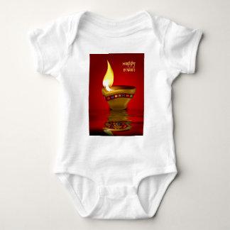Diwali Diya - Oil lamp illustration Infant Creeper