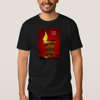 Diwali Diya - Oil lamp illustration Tee Shirt