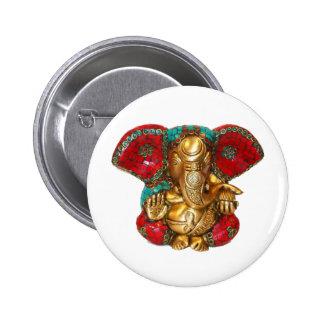 DIWALI felices - Gracias GANAPATI Ganesh Pins