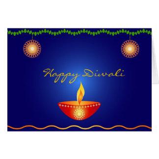 Diwali feliz - tarjeta