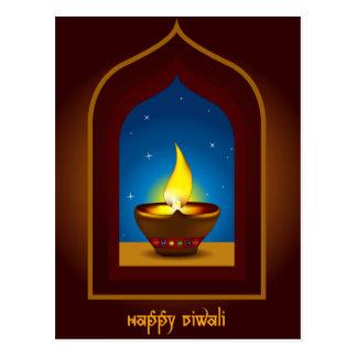 Diwali feliz postales