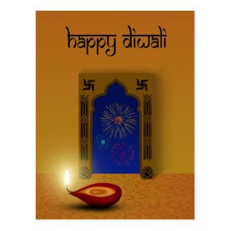 Diwali festivo - postal