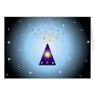Diwali fireworks - Card