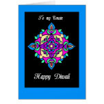 Diwali Greeting Card for a Cousin