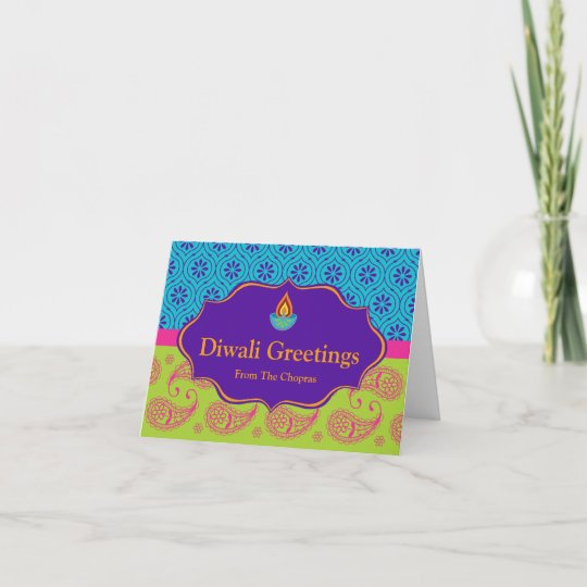 Diwali greeting card with editable text zazzle diwali greeting card with editable text m4hsunfo
