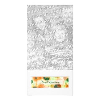 diwali greetings (bokeh) card